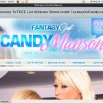 Candy Manson Discount Logins