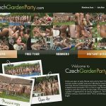 Czech Garden Party Full Site