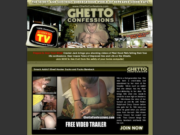 Ghetto Confessions Cuentas