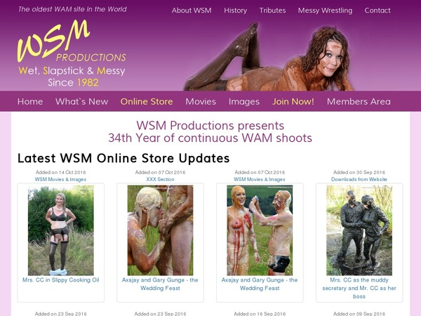 New WSM Productions Discount Offer