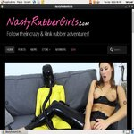 Nasty Rubber Girls With Pay Pal
