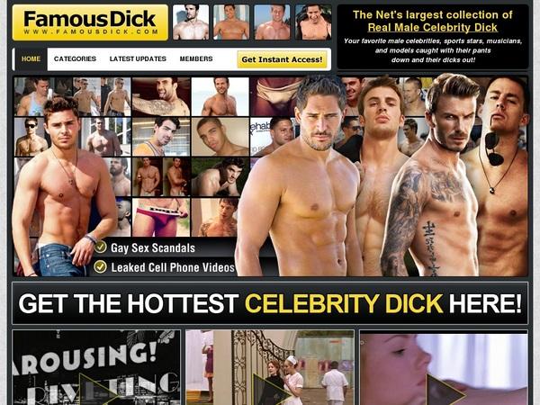 Famous Dick Password Details