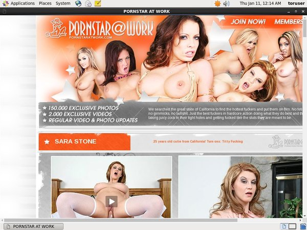 Pornstaratwork.com Pay Site