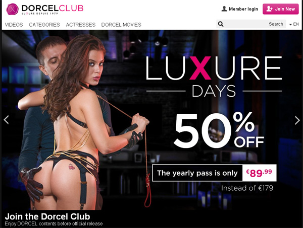 Free Dorcelclub.com Premium Passwords