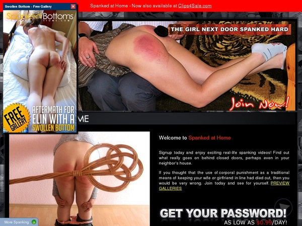 Free Spanked-at-home.com Premium Account