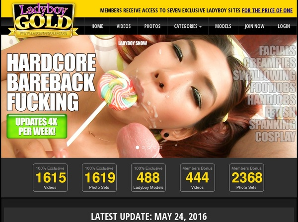 Ladyboy Gold Collection