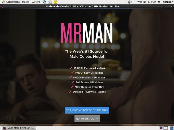 Mr Man Discount Codes