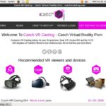 Czech VR Casting Paysite Passwords