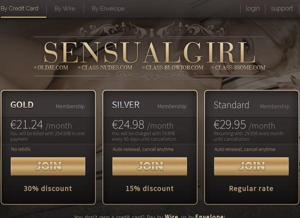 Sensualgirl With IBAN / BIC
