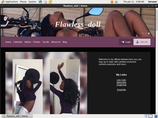 Free Password To Flawless Doll