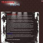 Training4boys.com New Account
