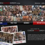 Czech Home Orgy For Free