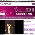 Ruby And MaXXX Free User