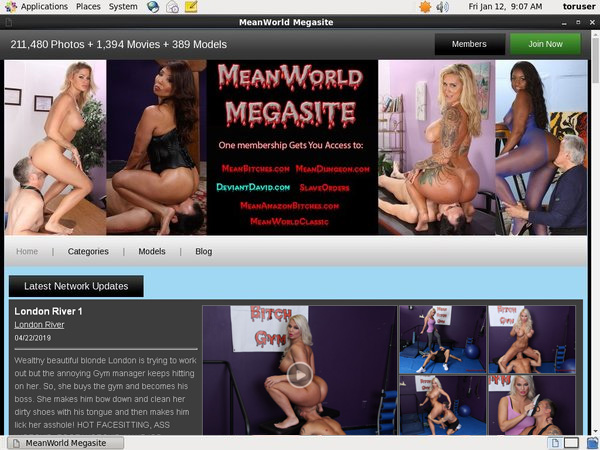 Meanworld.com With IBAN
